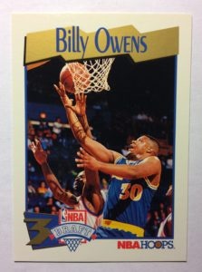 1991-92-Hoops-#458-Billy-Owens-front